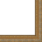 Picture Frame Moulding (wood) - Traditional Antique Gold Finish - 2