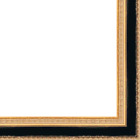 Picture Frame Moulding (wood) - Traditional Gold Finish - 1
