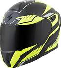 Scorpion Matte Neon Yellow/Black EXO-GT920 Shuttle Modular Motorcycle Helmet