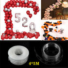 20m Balloon Chain Tape Arch Connect Strip for Wedding Birthday Party Decor Tools