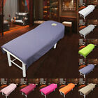 New Beauty Salon Massage Bed Table Soft Cover Spa Couch Sheet With Hole US