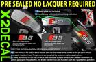 Brake decal sticker to fit Audi S2 S3 S4 S5 S6 S7 7 colour option pre-sealed x2