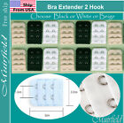 Kyпить Bra Extender 2 Hook Extension Black or White or Beige -US SELLER на еВаy.соm