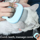 Shell Needle Comb Pets Cat Dog Massage Comb Hair Removal Open Knot Brush US 2020