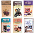 Assorted Master Artisan Polymer Clay Craft VHS Format Videos Excellent Condition image