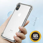 For iPhone X,XR,XS Max Case Shockproof Clear Translucent Matte Slim Hybrid Cover