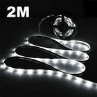 1/2/3/5M LED Strip Lights White Warm White USB Powered TV PC Back Xmas Lamp UK