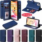 For Iphone 11 Pro Max Xr 6s 7 8 Plus Se 2020 Wallet Card Slot Leather Case Cover