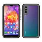 Waterproof Case for Huawei P20 P30 P40 Pro Mate Snowproof Shockproof Full Cover