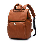 PU Leather Diaper Backpack Fashion Diaper Bag Maternity Newborn Baby Back Pack