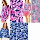 Lilly Pulitzer Polyester Fabric Wild Child in Reel Life Aquadesiac BTY 36' X 60'