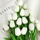 5/10 Artificial Tulip Flowers Bouquet Real Touch Home Garden Wedding Plant Decor