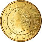 [#765839] Belgien, 50 Euro Cent, 2004, VZ, Messing, KM:229