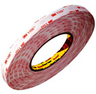 CLEAR 3M VHB TAPE ~ 10mm wide x 1mm thick ~ Double Sided MOUNTING Self Adhesive
