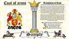 Tailbot-Tolputt COAT OF ARMS HERALDRY BLAZONRY PRINT