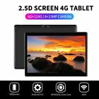 "10.1"" WI-FI/4G-LTE HD PC Tablet 2.5D Android 9.0 Pad 6 128G SIM GPS Dual Camera"