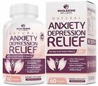 Happy Pills Natural Anti Anxiety Relief  Depression Supplement  Dopamine Mood Bo