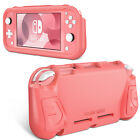 For Nintendo Switch Lite 2019 Anti-Slip TPU Silicone Protective Skin Case Cover