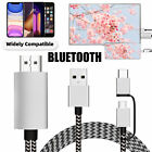 1080p HD 2 in 1 Type C Micro USB MHL to HDMI Cable Adapter Converter for Android