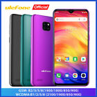 "6.1"" Unlocked Mobile Phone Triple Rear Camera Quad Core Smartphone Android 9.0"