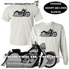 Indian Chief Vintage Motorcycle Monochrome Model DigiRods Art Gray T Shirt