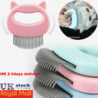 Pet Cat Dog Massage Comb Floating Hair Removal Grooming Shedding Cleaning Brush