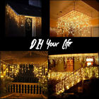 16M 52FT 384LED String Fairy Lights Wedding Home Xmas Party Decoration 8 Modes