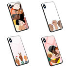 Feminist Fists Girl power Girls L258 tempered glass silicone case