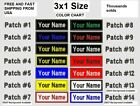 **love It Or It's Free** 3x1 Size Custom Name Tag Embroidered