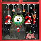 2021 New Year Window Stickers Merry Christmas Wall Decals Home Decoration Xmas