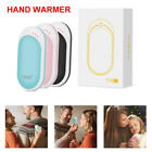 Hand Warmers USB Rechargeable Electric Portable Pocket Heater Power Bank Gifts