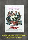 The Cannonball Run Classic Movie Large Poster Art Print Gift A0 A1 A2 A3 Maxi