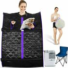Portable Steam Sauna, Personal Therapeutic Sauna Tent Home Spa Weight Loss #