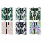 OFFIZIELLE NATURE MAGICK PALM LEAVES ON MARBLE BRIEFTASCHE HUELLE OPPO HANDYS