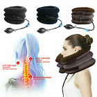 Cervical Traction Stretcher Back Head Neck Inflatable Support Massager Therapy
