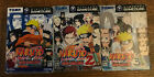 Lot Naruto 1 2 And 3 Japanese GameCube Game. Used. NTSC-j.boxed