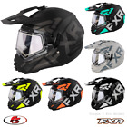 New FXR Torque X Evo Snowmobile Helmet Black ops/Orange MD LG XL 2XL