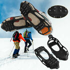24 Teeth Winter Ice Snow Anti Slip Crampons Cleats Shoes Spike Grip Boot Gripper