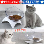 Anti-Vomiting Orthopedic Pet Bowl - single / double Pet Dog Cat Pet Chic Bowl UK