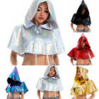 Cloak Cape Capes Costume Cosplay Steampunk Ladies Halloween Witchcraft