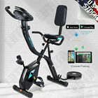 Folding Exercise Bike 10Level Resistance Cycling Cardio Bicycle Home Gym Workout