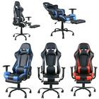 Ergonomic Computer Office Executive Task Gaming Chair with Footrest