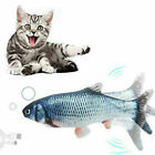 Electric USB Floppy Moving Fish Cat Toy Realistic Plush Simulation For Cats Tool
