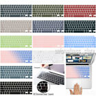 Elegant Color Silicone Keyboard Cover For Macbook Pro 16 15 Air 11 12 13.3 Case