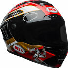 Bell Adult Black/Gold/Red Star MIPS Isle of Man 2018 Motorcycle Full Face Helmet