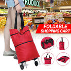 Foldable Trolley Bag Portable Shopping Cart Folding ome Travel Luggage Larg