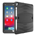 Rubber Case Shockproof Military Bumper Kickstand Cover For iPad 5th / 6th Gen