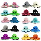 Octopus Mood Toy Reversible Flip Double Sided Plush Soft Plushie Emotions Happy