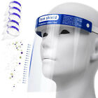 Transparent Safety Face Shield Full Protection Cap Wide Visor for Adults / Kids