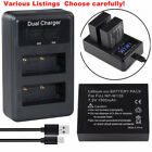 Battery or Charger for Fujifilm NP-W126s X-T30 X-T100 X-S10 XS10 Camera